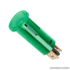 Jelzőfény, 220V, zöld, 10 db / csomag (07920ZO)