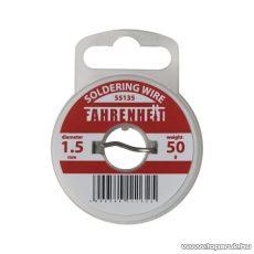 Fahrenheit Forrasztó ón, 1,5 mm, 50 g (55135) - készlethiány
