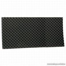 Hangtompító szivacs, 50 x 100 cm, fekete, 2 db / csomag (39502)
