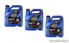 ELF 5W40 Evolution SXR (Excellium LDX) Renault gyári motorolaj 3x5 liter