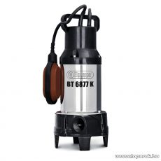 Elpumps BT 6877 K Darabolókéses úszókapcsolós szennyvíz szivattyú, fekáliaszivattyú relével, 1600 W (szennyezett vízre)