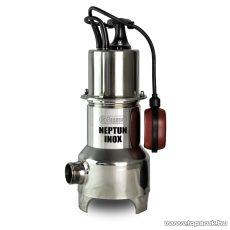 Elpumps NEPTUN INOX Szabad átömlésű úszókapcsolós szennyvíz szivattyú, merülőszivattyú, 800 W (szennyezett vízre)