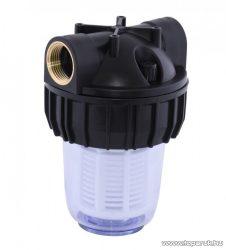 Elpumps tartozék műanyag mosható előszűrő (filter), 1 literes
