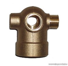 """Elpumps HW371 tartozék 5 ágú réz idom (bronz csatlakozó) VB vízellátóhoz, 1/4""""-os csatlakozás"""