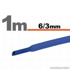 Zsugorcső, kék, 6 / 3 mm, 10 m / csomag (11022K)