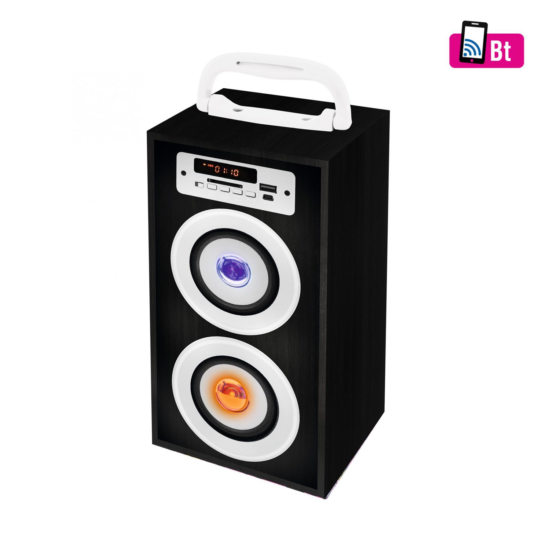 b5f5bc5c332e SAL BT 2800/BK Hordozható Bluetooth / USB multimédia hangszóró, 4 in 1,  fekete