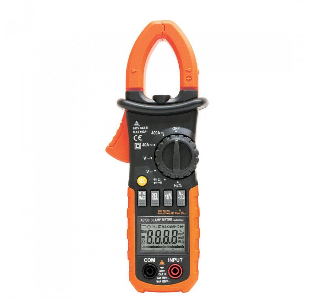 Maxwell MC-25 601 Digitális lakatfogó ellenállás méréssel (25601 ... 68f3546f54