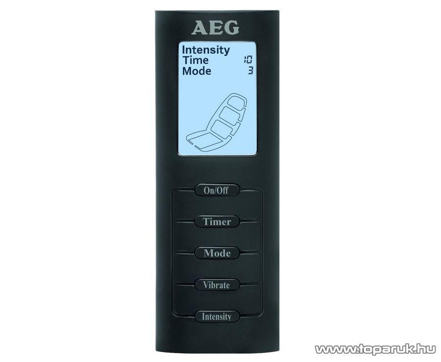AEG MM5634 Shiatsu masszázsülés, autóban is használható