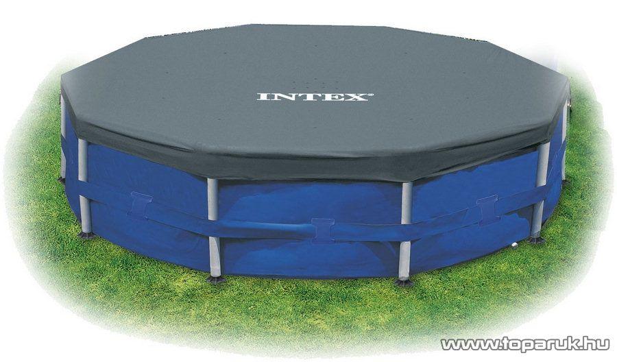 Intex Medence védőtakaró, takaró fólia 366 cm átmérőjű fémvázas medencéhez (28031) - készlethiány