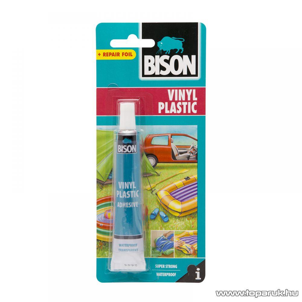 BISON műanyag PVC medence ragasztó + javító fólia (B05320) - készlethiány