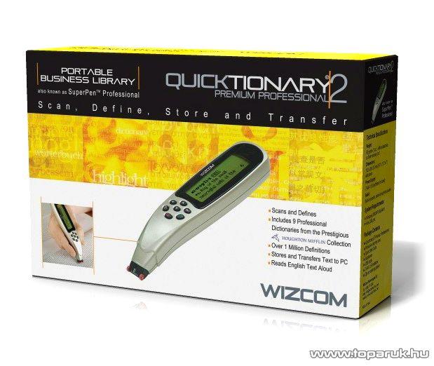 Quicktionary Premium 2 Kézi, lézeres szkenner és fordítógép - készlethiány