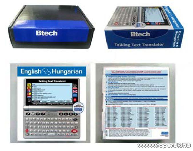 Btech Vocal V4 angol - magyar beszéló szótárgép és fordítógép - megszűnt termék: 2015. október