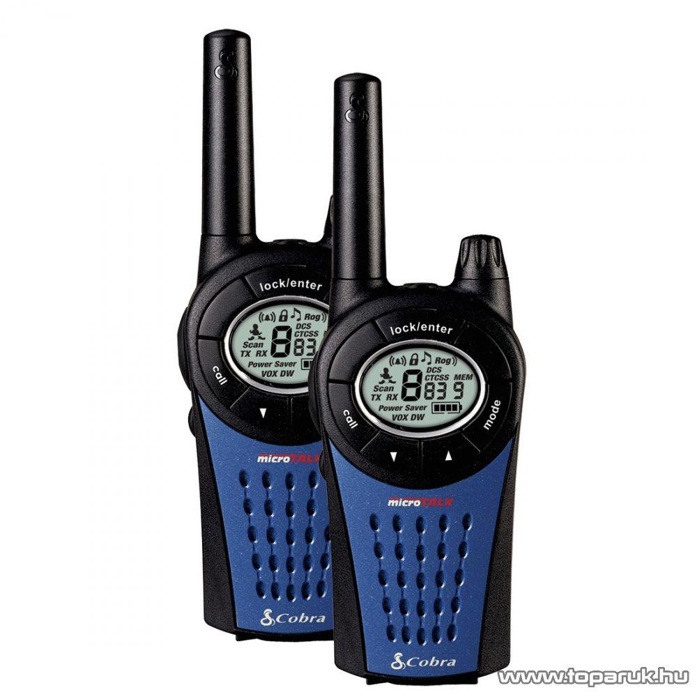 Cobra MT 975C PMR rádió adóvevő, 12 km-es walkie-talkie