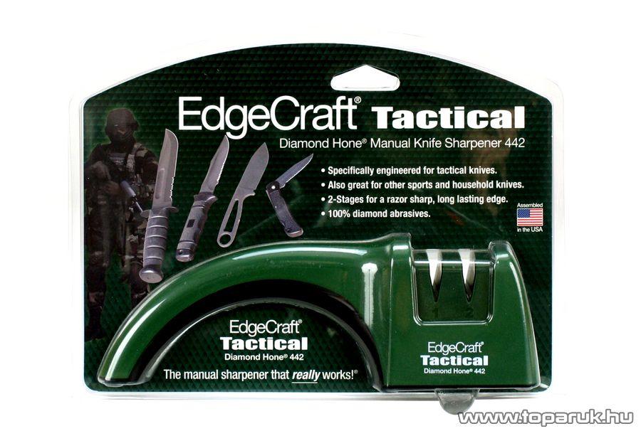 Chef's Choice / EdgeCraft 442 Gyémántszemcsés manuális vadászkés élező, késélező