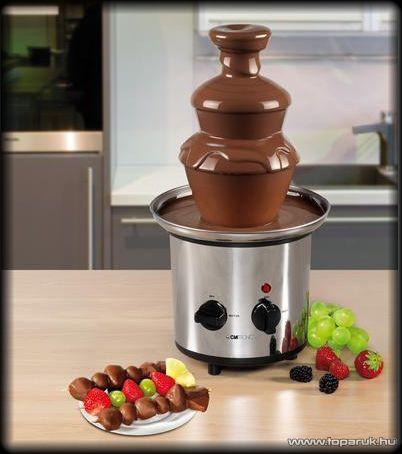 Clatronic SKB 3248 Csokoládé szökőkút (csokiszökőkút)