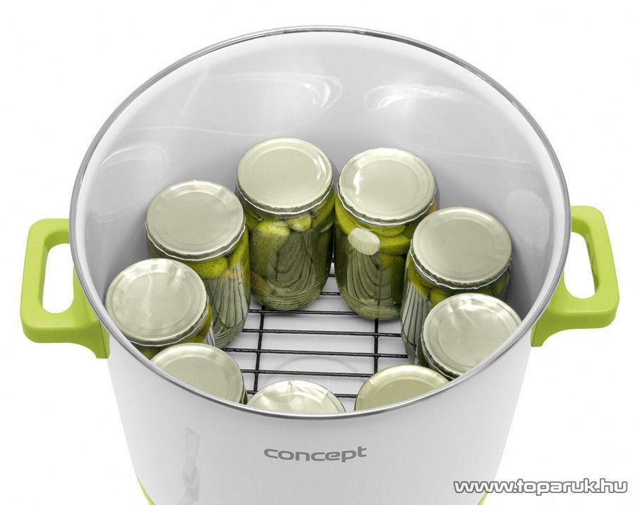 Gobi / Concept 27 literes befőző edény időzítővel, lekvár és forralt bor készítő (befőzőautomata)