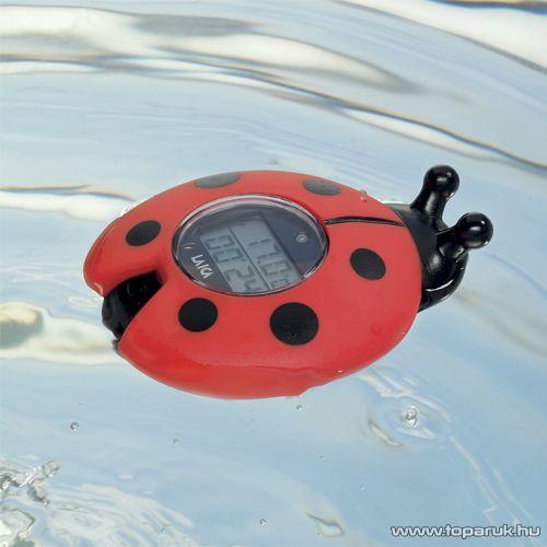 Laica Baby Line Digitális fürdő víz hőmérő, katica formájú (TH4006) - Megszűnt termék: 2015. Október