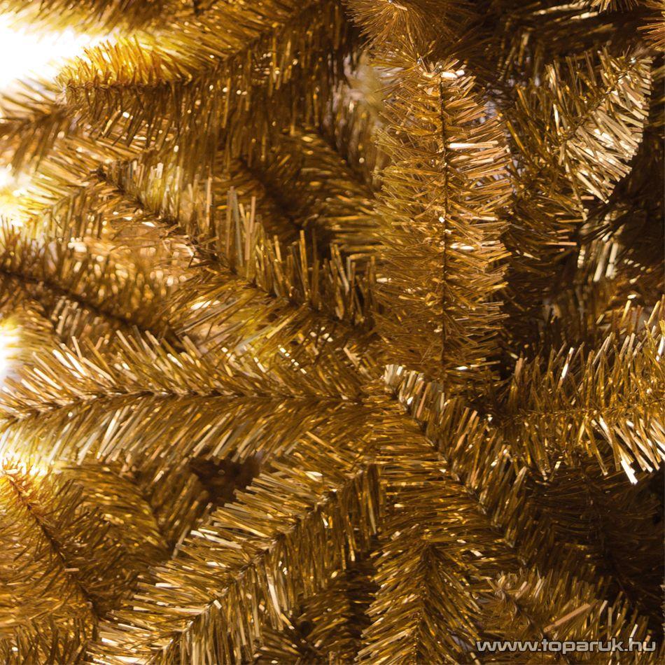 COPPERFIELD arany extradús műfenyő, 210 cm (KFB 561)