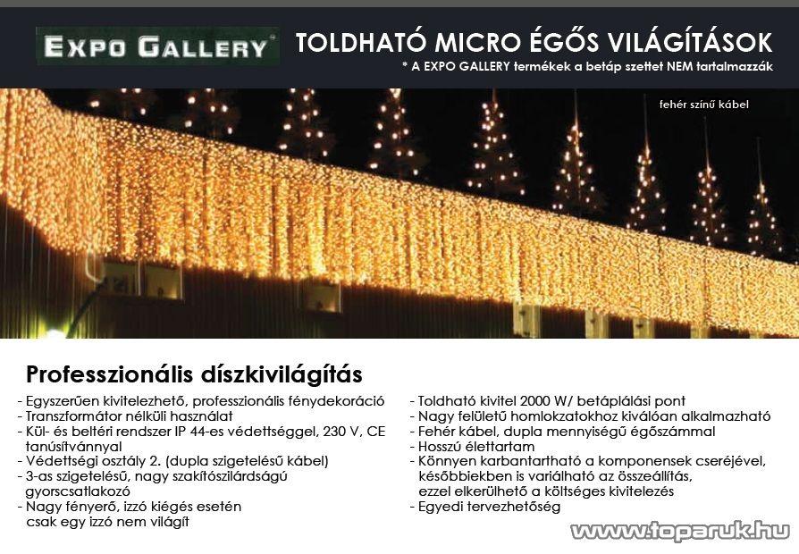 EXPO GALLERY KST 851 Pótsor KST 841 EXPO GALLERY fényfüggönyhöz EXTRA, 5 db pótsor / csomag
