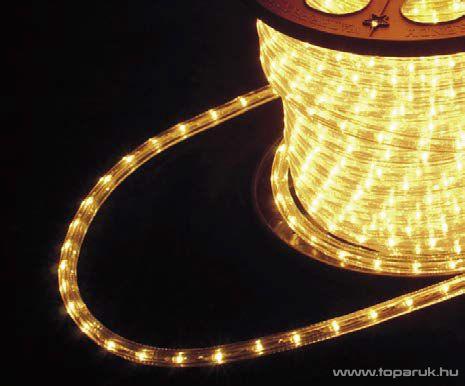 Design Dekor KNF 003 Kültéri vágható 1800 LED-es fénykábel, 50 méter hosszú, meleg fehér fényű - készlethiány