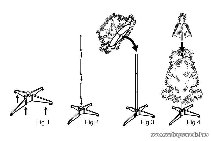 POP-UP PRE-LIT pillanatok alatt felállítható dús műfenyő + LED égők, rattan gömbökben, 150 cm (KPZV 150)