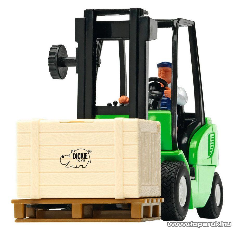 Dickie Cargo Master targonca, 3 féle szín (203414877) - Megszűnt termék: 2015. November