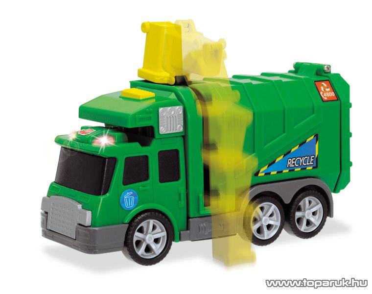 Dickie City Cleaner zöld kukásautó (203413572) - Megszűnt termék: 2015. November