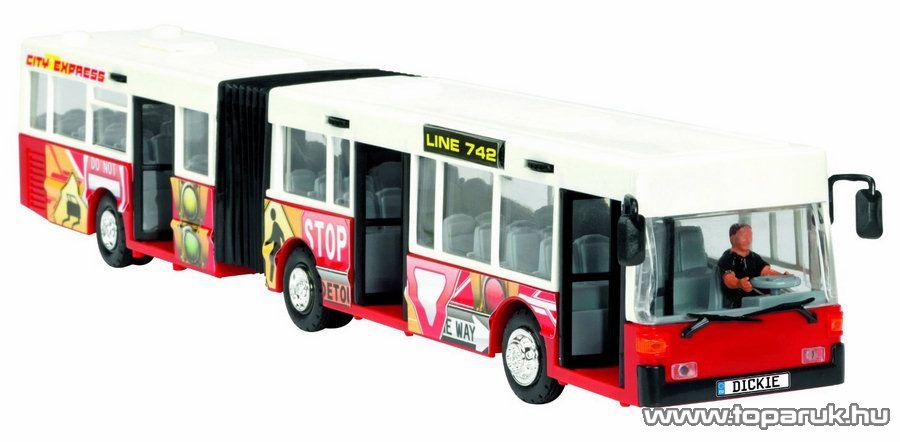 Dickie City Express csuklós busz, 3 féle szín (203314825) - Megszűnt termék: 2015. November