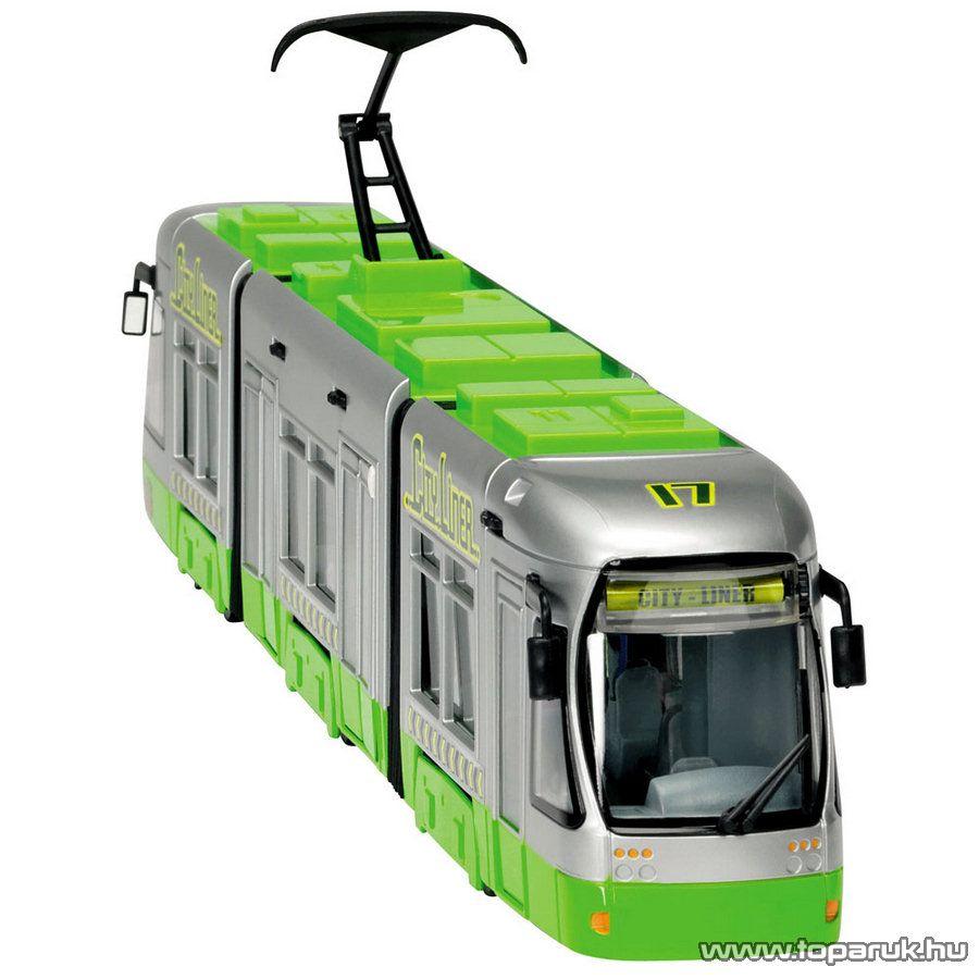 Dickie City Liner villamos, 2 féle szín (203315105) - Megszűnt termék: 2015. November