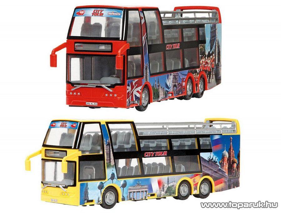 Dickie Emeletes turista busz, 2 féle szín (203314322) - Megszűnt termék: 2015. November