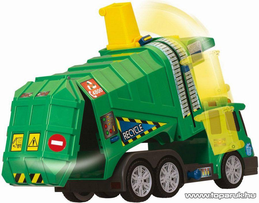 Dickie Funkciós kukásautó (203418335) - Megszűnt termék: 2015. November