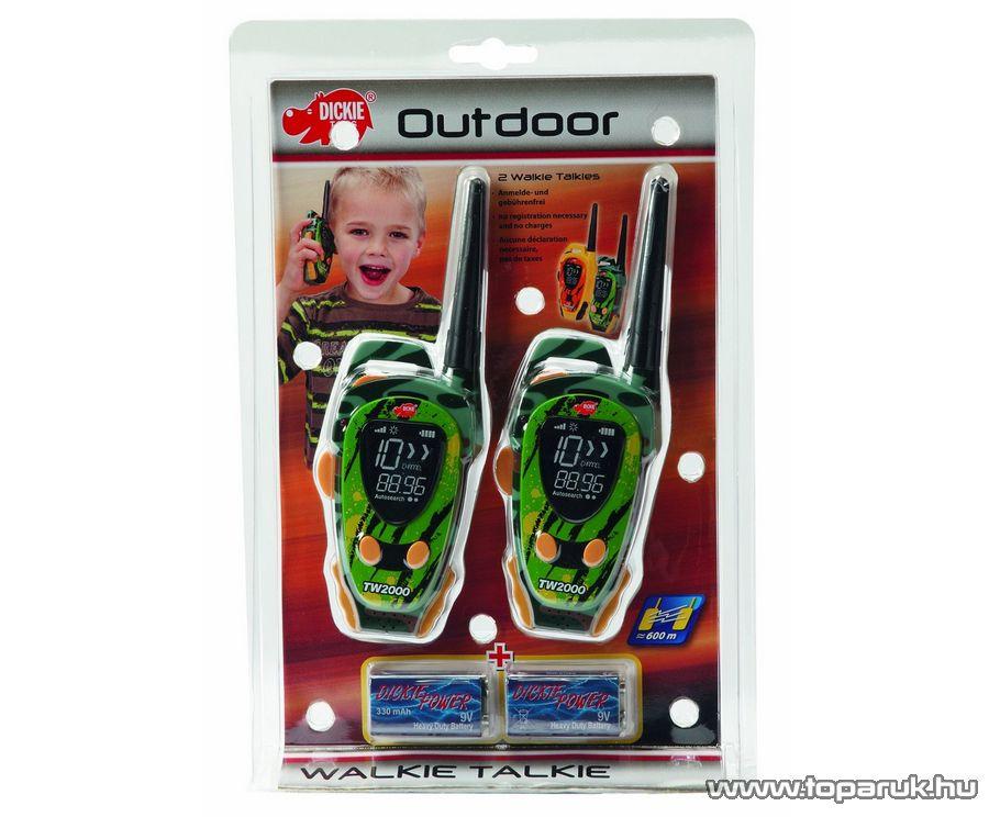 Dickie Outdoor Walkie Talkie, adóvevő gyerekeknek (201118175) - Megszűnt termék: 2015. November