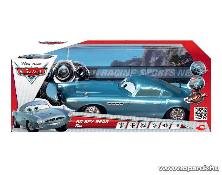 Dickie RC Verdák Finn McMissile távirányítós autó, 1:16 (203089508) - készlethiány