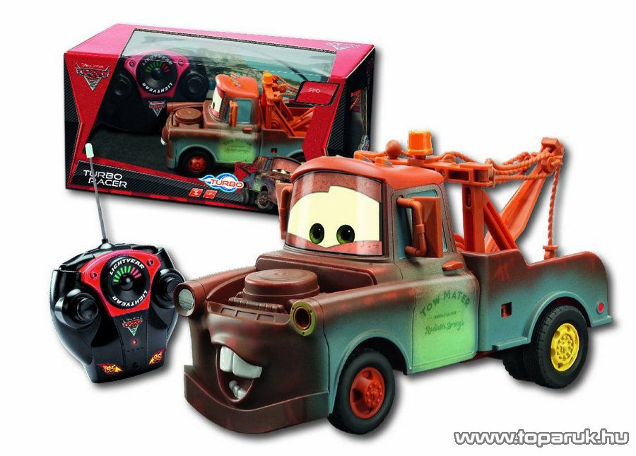 Dickie RC Verdák Cimbi (Mater) távirányítós autó, 1:24 (203089502) - Megszűnt termék: 2015. November
