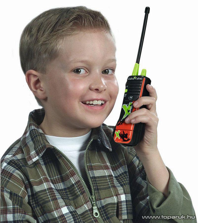 Dickie X-Treme Walkie Talkie, adóvevő gyerekeknek (201118102) - Megszűnt termék: 2015. November