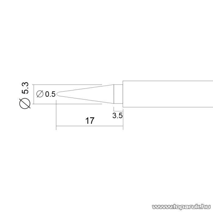 Fahrenheit Pákahegy 28003-as pákához, 2 db / csomag (28921N)