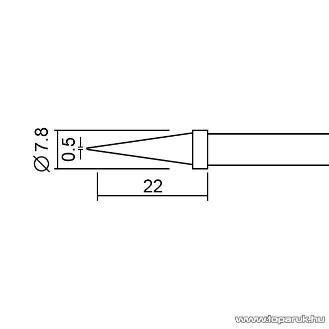 Fahrenheit Pákahegy 28020-as pákához, 2 db / csomag (28932)