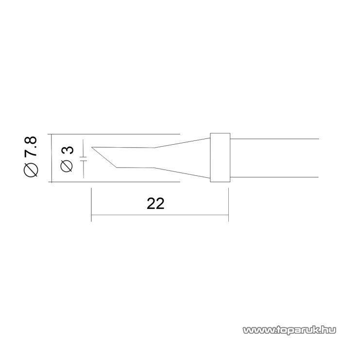 Fahrenheit Pákahegy 28020-as pákához, 2 db / csomag (28933)