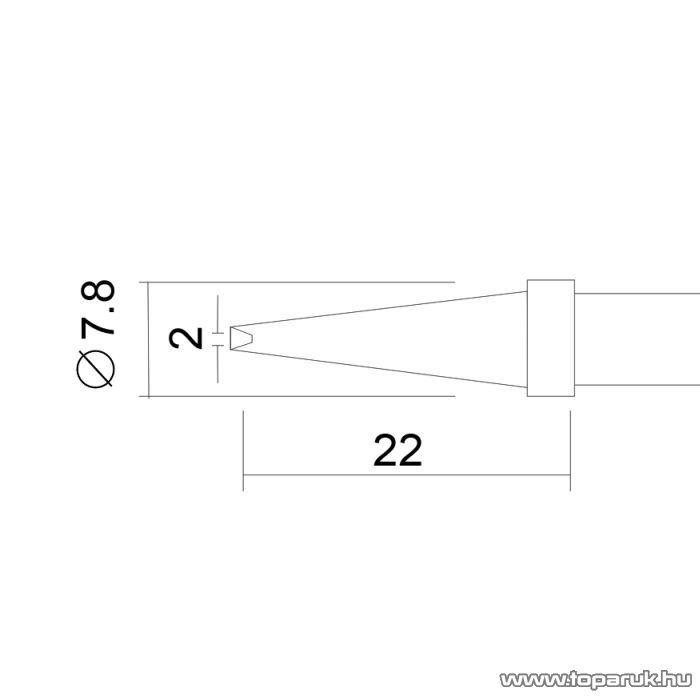 Fahrenheit Pákahegy 28020-as pákához, 2 db / csomag (28934)