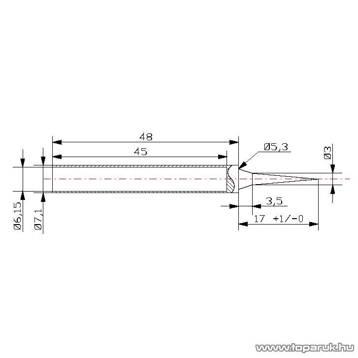 Fahrenheit Pákahegy 28011-es pákához, 2 db / csomag (28942)