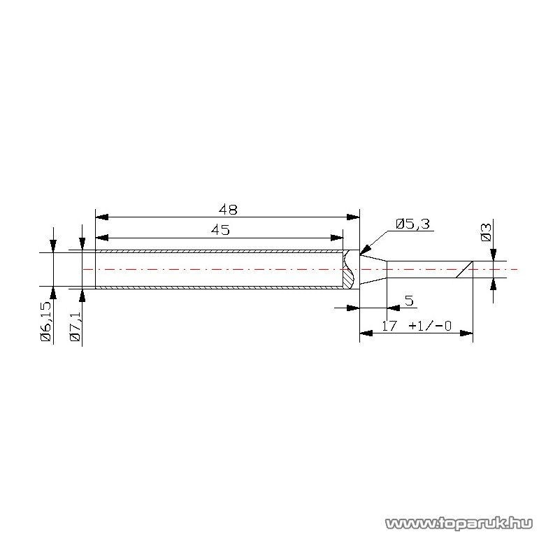Fahrenheit Pákahegy 28011-es pákához, 2 db / csomag (28943)