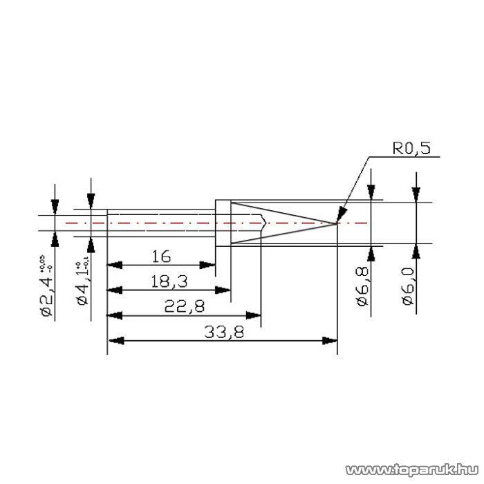 Fahrenheit Pákahegy 28012-es pákához, 2 db / csomag (28946)
