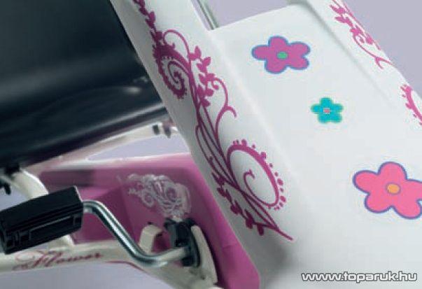 Ferbedo Tourer fehér-rózsaszín gyermek gokart (5117) - készlethiány