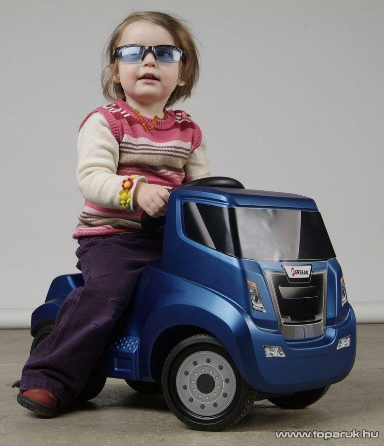 Ferbedo Truck Rutscher lábbal hajtós gyermek kamion (54061)