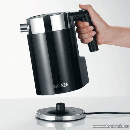 Graef WK702 1,5 literes inox vízforraló, fekete