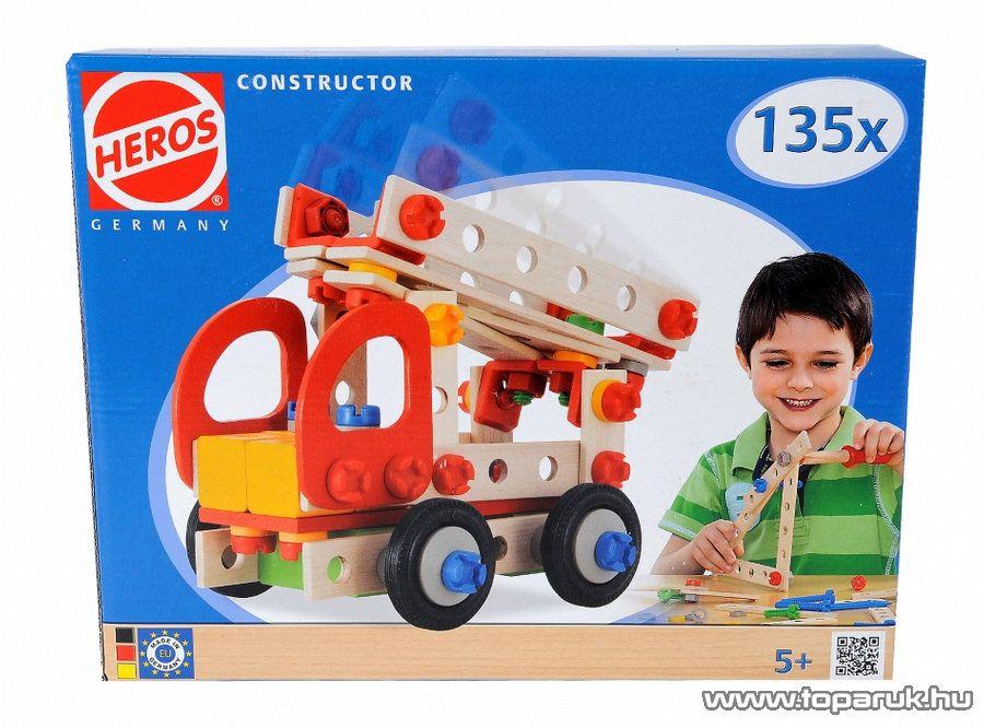 Heros 135 darabos constructor, fa építőjáték (100039036) - Megszűnt termék: 2015. November