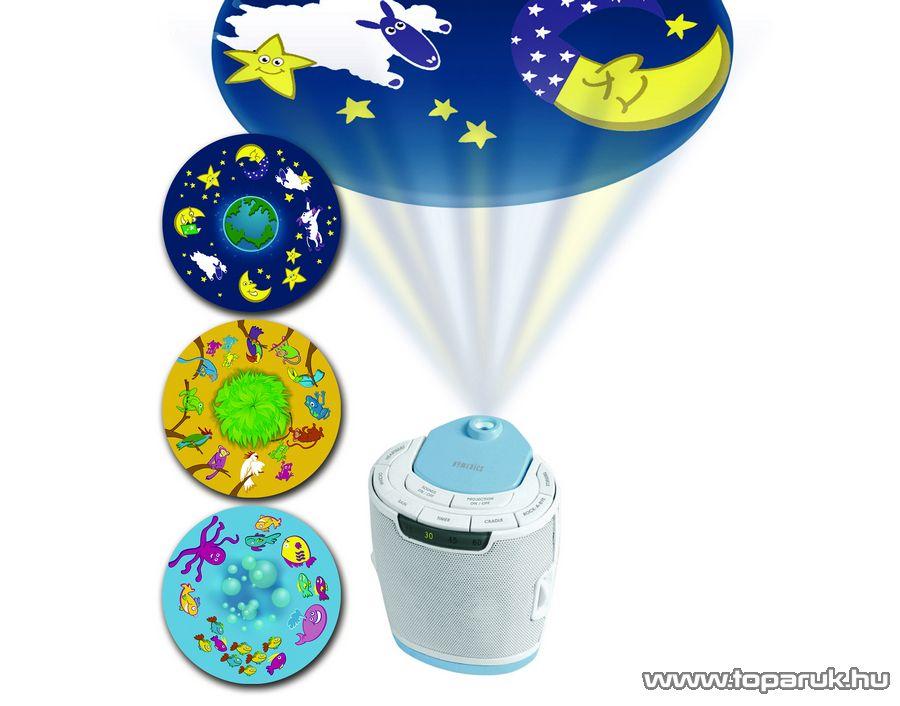 Homedics SS-3000 Projektoros baba altató, kivetítő - készlethiány