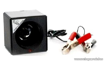 Ultrasonic US300/A 12V / 24 V akkumulátorról üzemeltethető ultrahangos nyestriasztó (rágcsálóriasztó) 300 m2