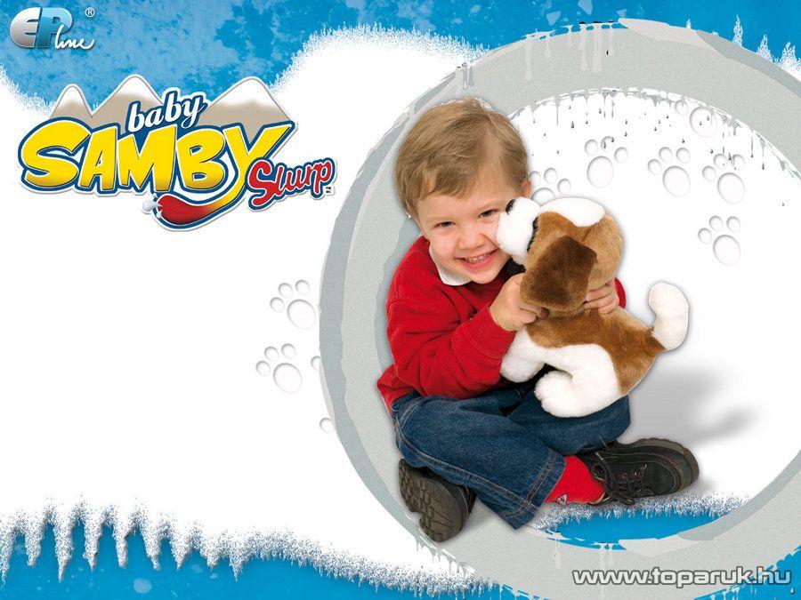 Samby Slurp interaktív plüss bernáthegyi kutya - készlethiány