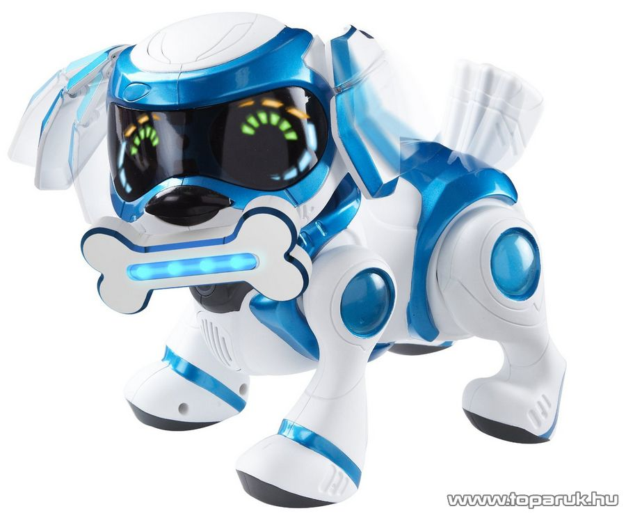 TEKSTA Robot kutyus, interaktív játék kutya, kék - készlethiány